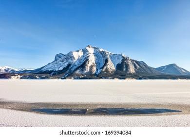 Rocky Mountain in Winter