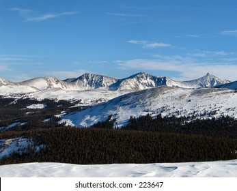 Rocky mountains, Continental divide