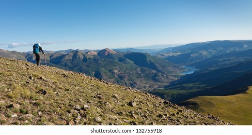 Rocky Mountains Hiking Adventure, Colorado, USA