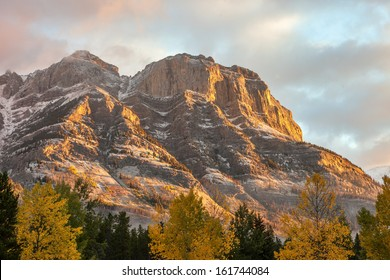 Rocky Mountains at Sunrise