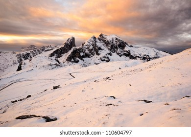 Rocky peak, Dolomites, Italy