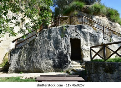 rocky settlement of Zungri,Calabrie in Italy