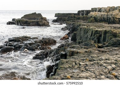Rocky shoreline in Sweden/Rocky shoreline