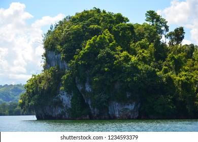 Rocky small Islands, Samana, Dominican Republic