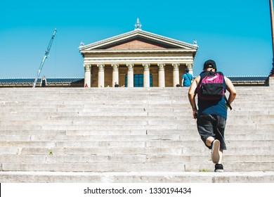 Rocky Steps in Philly