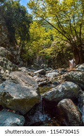 rocky valley in samothrace