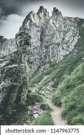 rocky world landscape