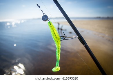 rod and lure