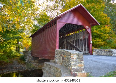 Roddy Creek Covered Bridge near Frederick, Maryland