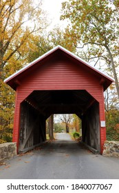 Roddy Road Covered Bridge in Thurmont, MD October 2020
