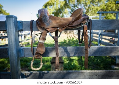 Rodeo saddle