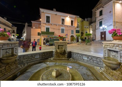 RODI GARGANICO, ITALY - APRIL 29, 2018 - Rodi Garganico is a little picturesque village in Puglia, south Italy. It's a vacation centre for tourists from all over the world
