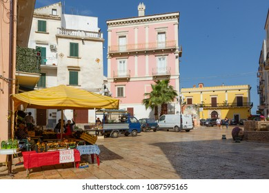 RODI GARGANICO, ITALY - APRIL 30, 2018 - Rodi Garganico is a little picturesque village in Puglia, south Italy. Its territory belongs to the Gargano National Park.