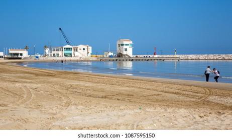 Rodi Garganico (Puglia, Italy) - The beach in spring time