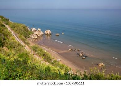 Rodi Garganico (Puglia, Italy) - View of the beach and the sea