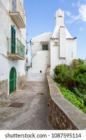 Rodi Garganico (Puglia, Italy) - View of the little picturesque village in south Italy