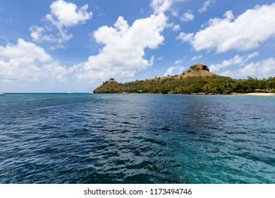 Rodney Bay on the island of St Lucia in the Caribbean