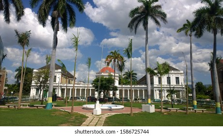 Rodney Memorial In Spanish Town District Of Kingston Jamaica