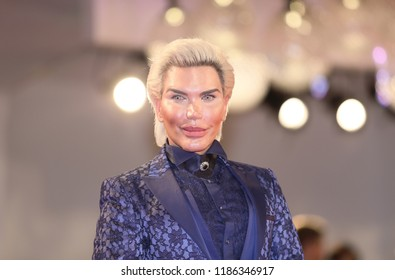 Rodrigo Alves attends 'Ying (Shadow)' screening and 2018 Jaeger-LeCoultre Glory To The Filmaker Award to Zhang Yimou during the Venice Festival at Sala Grande on September 6, 2018 in Venice, Italy.