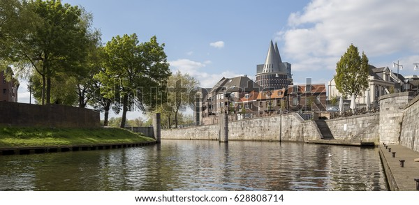 roermond city in the netherlands