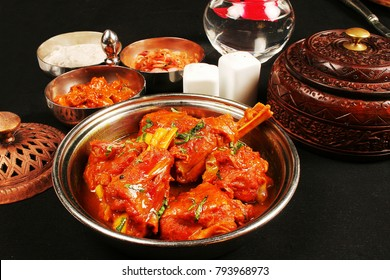 Rogan josh is a delicius curry made of lamb or goat in Kashmir or Northern part of India.