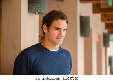 Roger Federer   Dubai march 2017