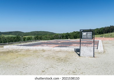 Rogoznica, Poland - June 3, 2021: Place of executions of KL Gross-Rosen. Gross-Rosen was a network of Nazi concentration camps built and operated by Nazi Germany during World War II.