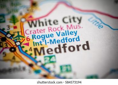 Rogue Valley Intl Medford. Oregon. USA