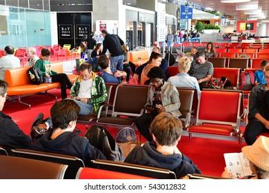 Roissy en France, France - july 6 2016 : the Charles de Gaulle airport