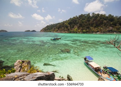 Rok Roy island, Koh Rok Roy, Satun, Thailand