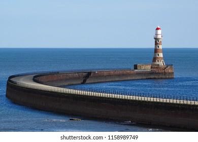 Roker Lighthouse Pier
