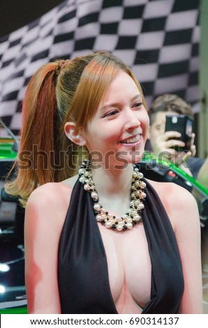 Rola Mizaki Japanese Av Actress At Bangkok International Auto Salon 2015