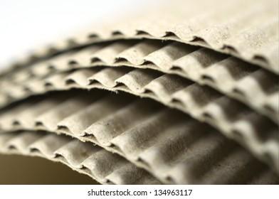 Role of corrugated card board