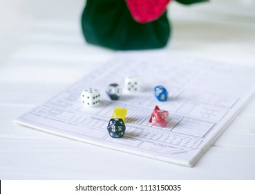 Role playing dices