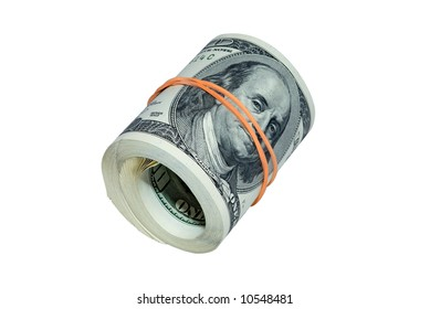Roll of banknote