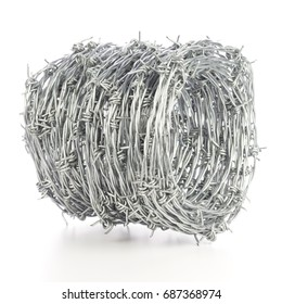 Roll of Barb Wire. Non sharpened file
