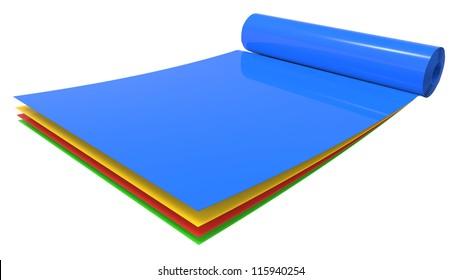 Sheet Rolls Images, Stock Photos & Vectors | Shutterstock