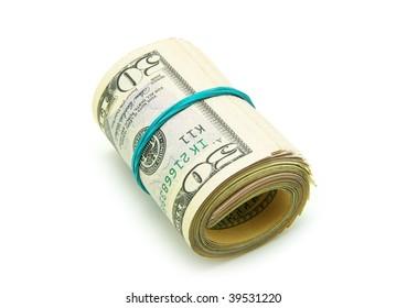 Roll of dollars