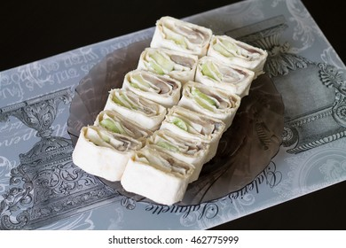 roll with fish