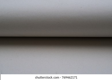 Roll or fold brown paper use for background
