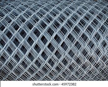 roll of gray steel Chicken Wire