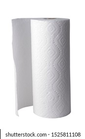 A roll of paper towel