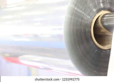 A roll of plastic sheet for manufacturing process