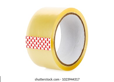 roll of scotch tape isolated on white
