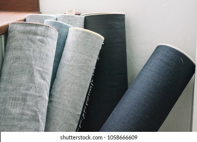 Roll Of Selvedge Denim