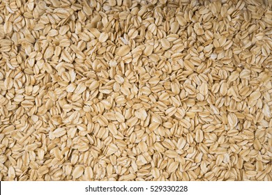 rolled oat, oat flakes photo, oat background.