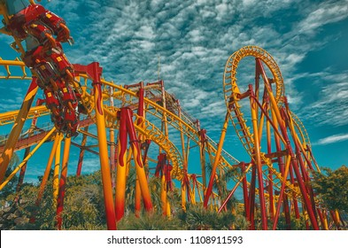 Roller Coaster - Beto Carrero World - Santa Catarina . Brazil