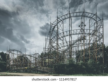 roller coaster - objects and places lost in time