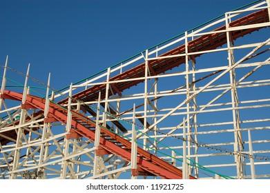 Roller coaster; San Diego, California