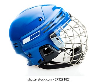 Roller Hockey, Ice Hockey, Helmet.